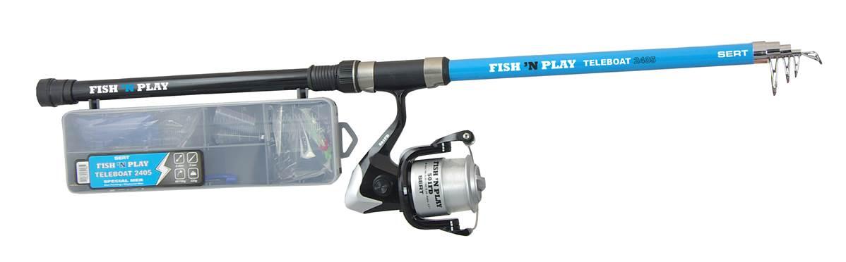 Kit fish\'n play teleboat 2405 + 501FD + box