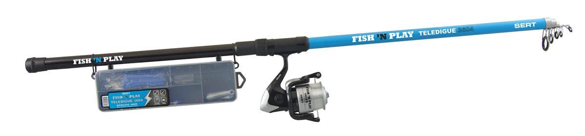 Kit fish\'n play teledigue 3604 + 601FD +box