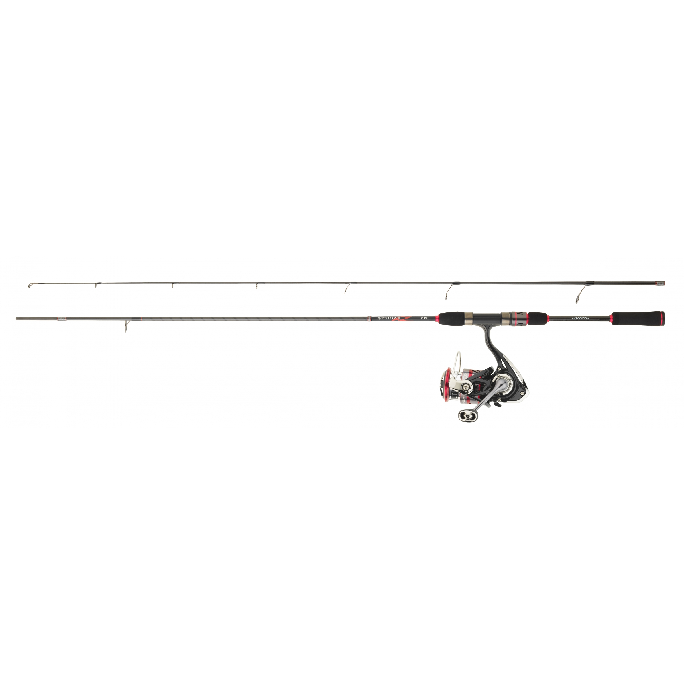 Ensemble lancer spinning DAIWA SET NINJA