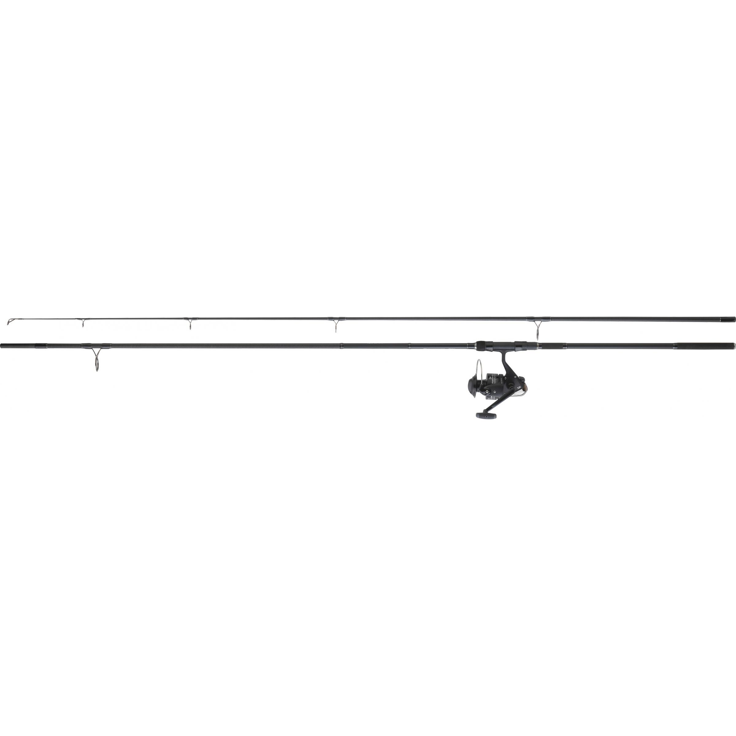 Ensemble carpe DAIWA D-CARP + PHANTOM 5000 BU frein avant 3m60 35g/100g