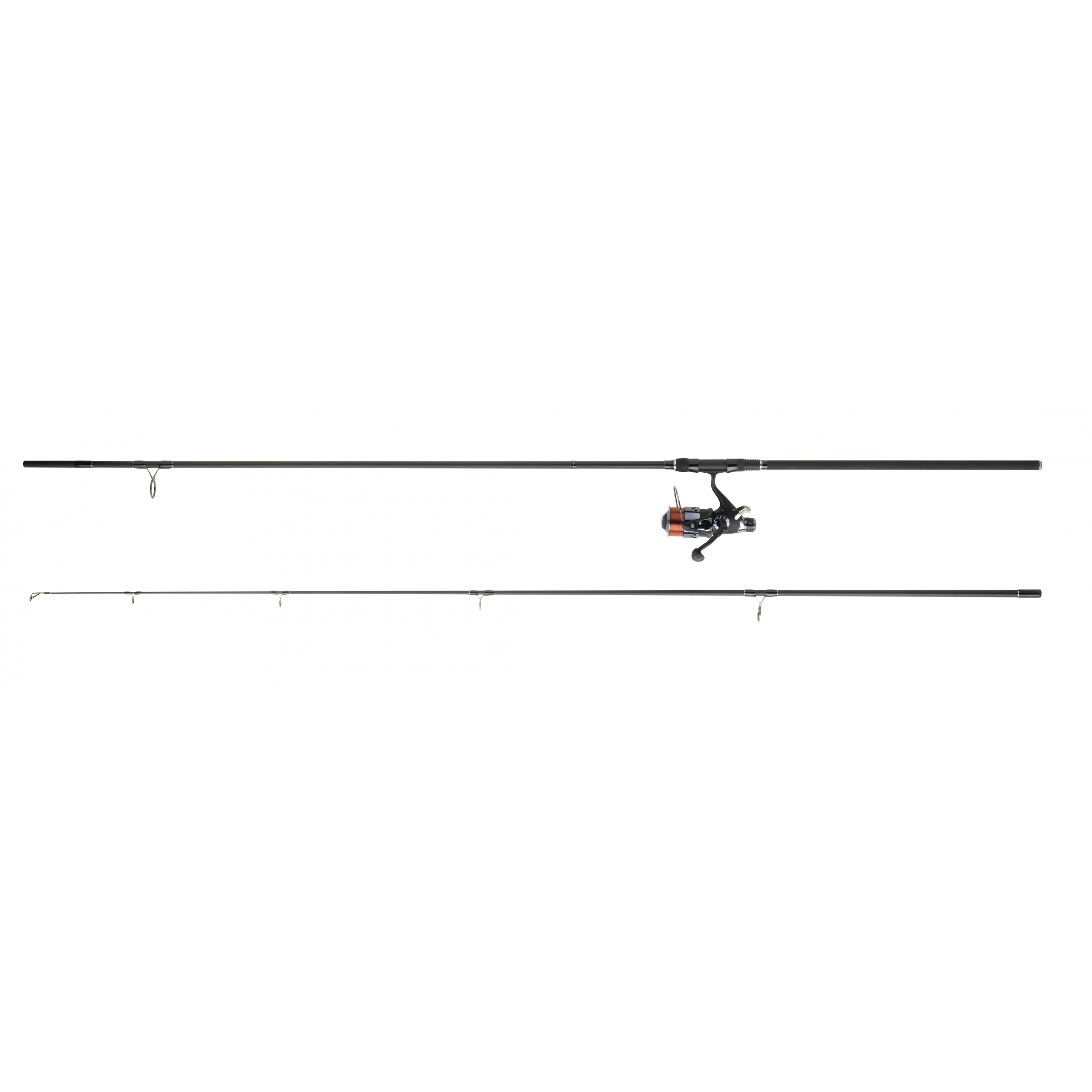 Ensemble carpe DAIWA D-CARP + BRB5035B débrayable 3m60 35g/100g