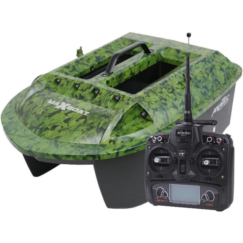 Bateau amorceur ANATEC MAXBOAT + DE-SR07 + FISHING ROBOT