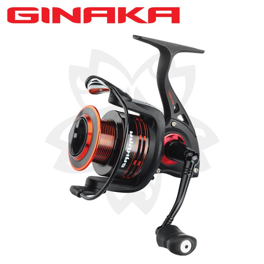 Moulinet spinning SAKURA GINAKA 2.0 livré avec 2 bobines