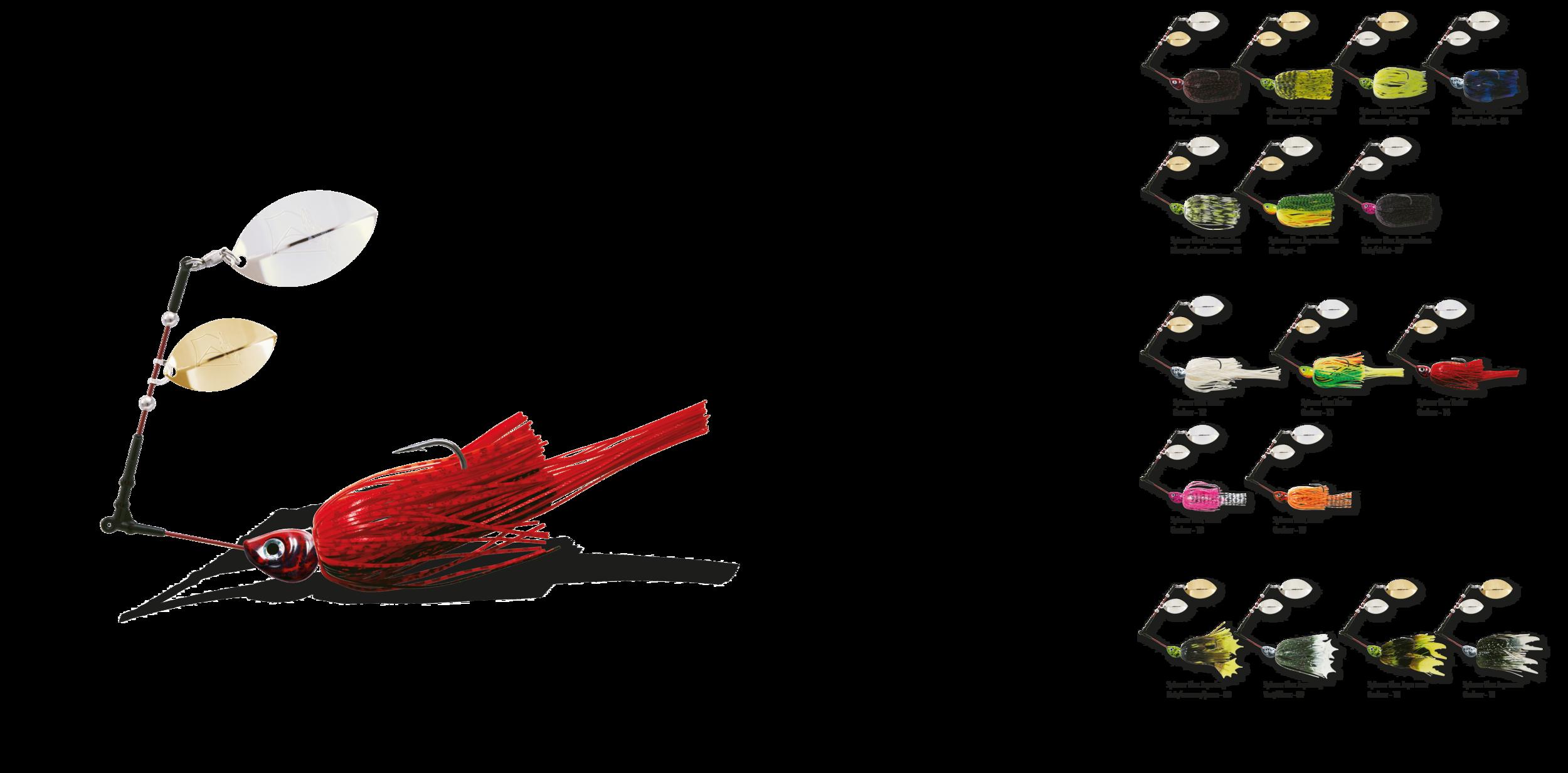 1 DELALANDE SPINNER FLEX V2 10g/14g/21g