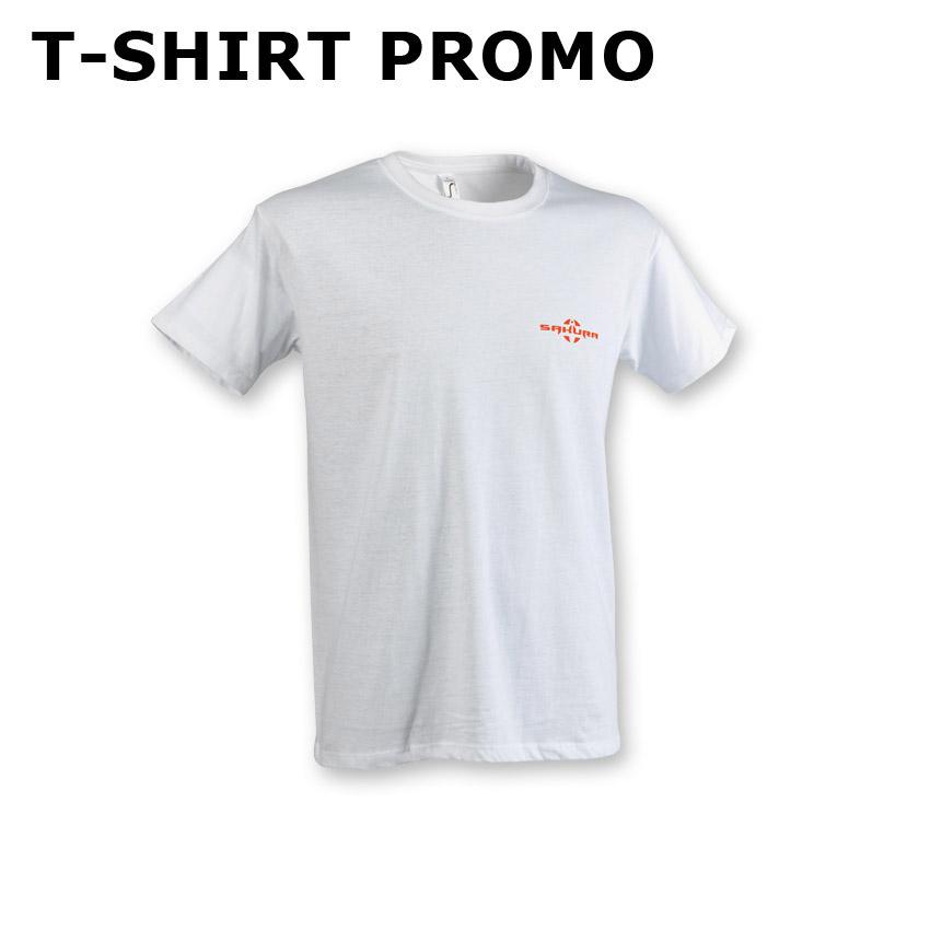 T-shirt SAKURA PROMO BLANC