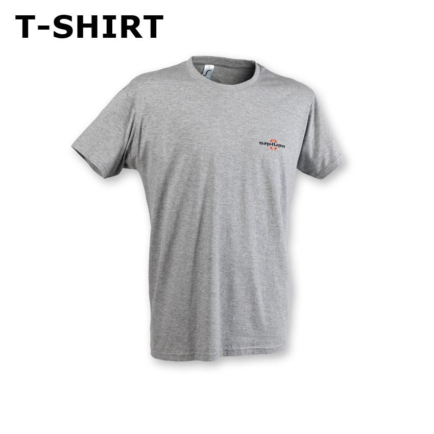 T-shirt SAKURA Gris chiné