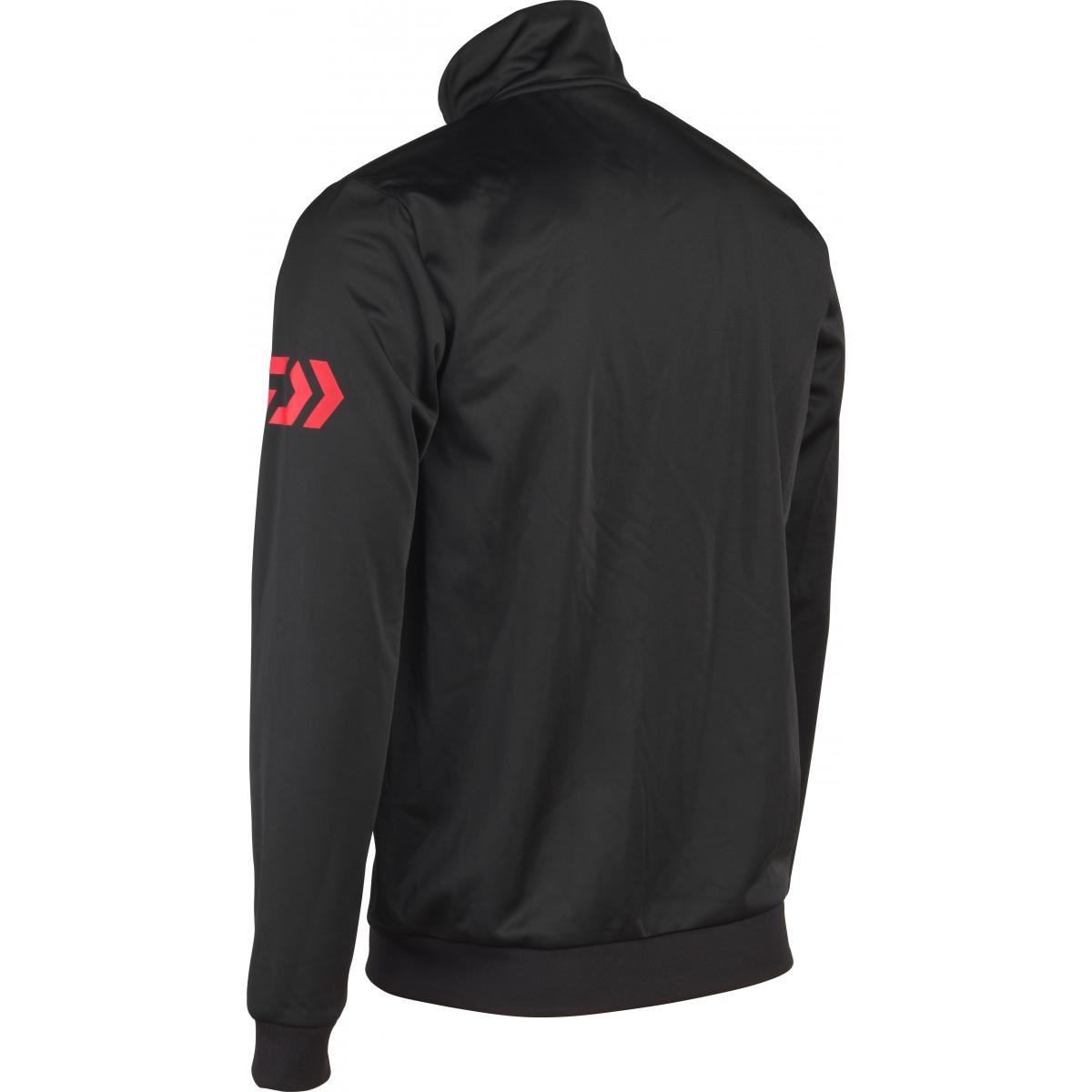 Veste sportware DAIWA zippée - noir et rouge