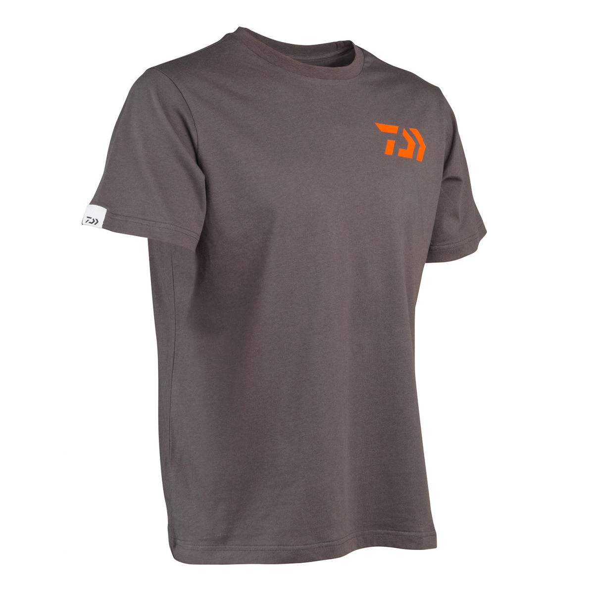 T-shirt DAIWA - gris et orange