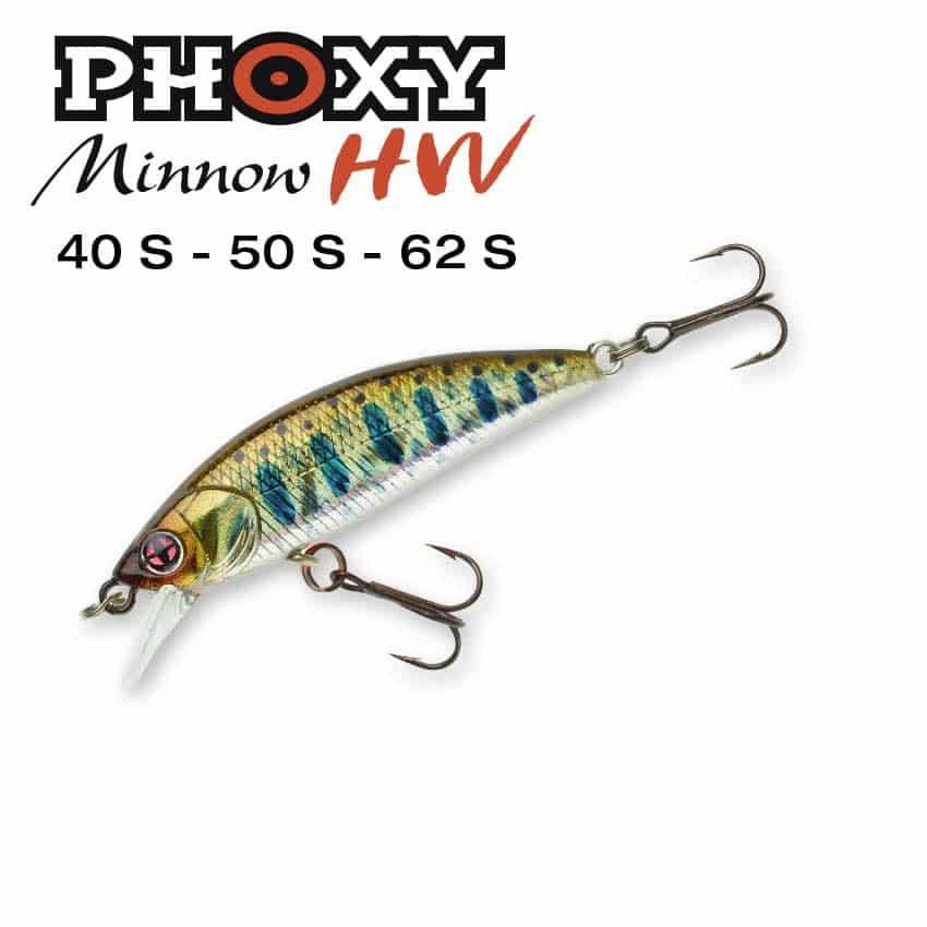 SAKURA PHOXY MINNOW HW 40S 50S 62S
