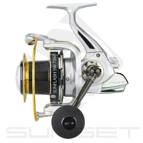 Moulinet mer SURFCASTING SUNSET SUNFLASH SW FD