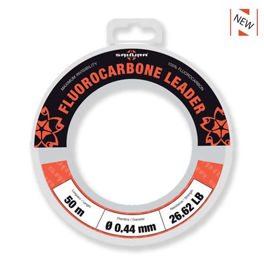 Fluorocarbone SAKURA LEADER 50m