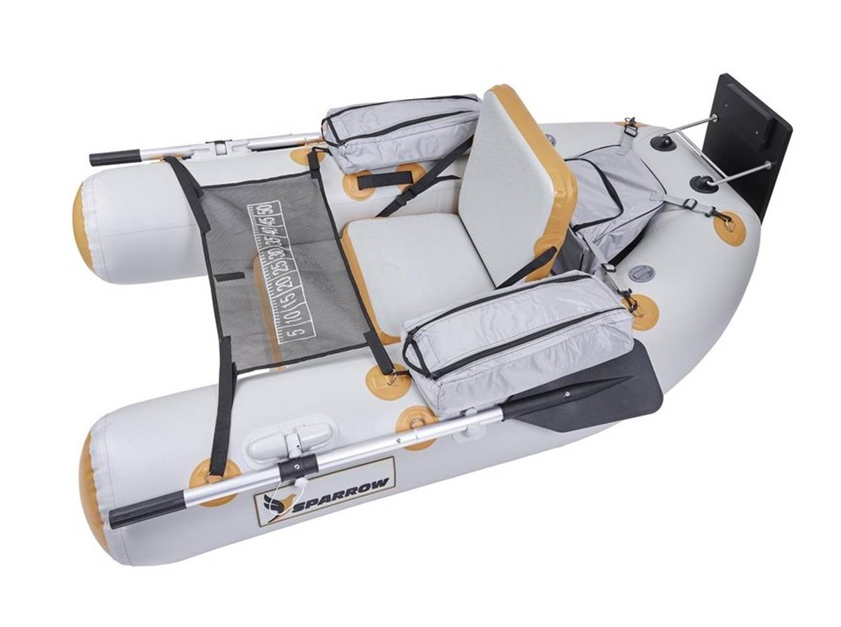 Float tube JMC SPARROW EXPEDITION 180 GREY AND WHITE