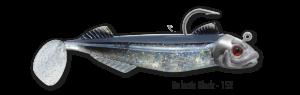 1 leurre monté DELALANDE SPEED FACTOR 11cm 21g GALACTIC BLACK