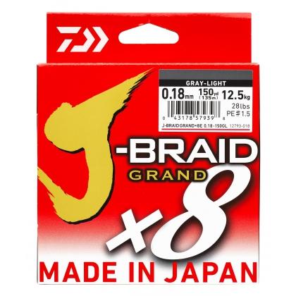 Tresse 8 brins DAIWA JBRAID GRAND X8
