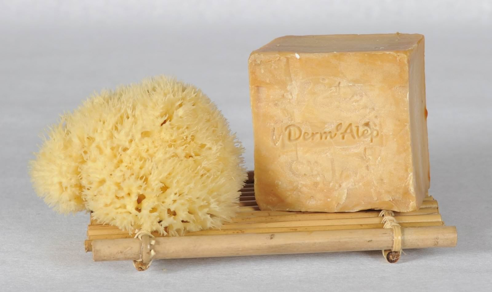 éponge +Derm'Alep +Sup. Bambou