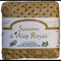 Le savon d'Alep Royal - Étui en bambou tressé