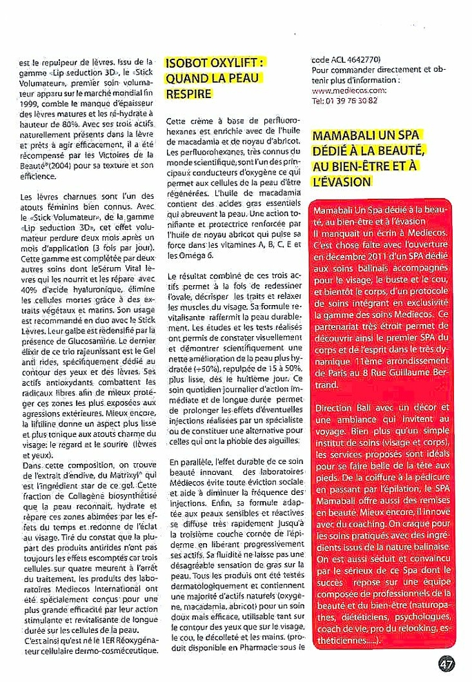 pub OXYGENE SANTE P47 mai:juin