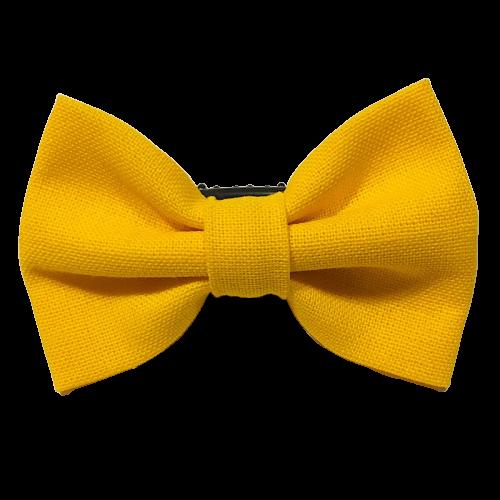 Barrette anti glisse couleur jaune