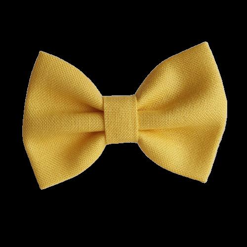 Barrette couleur jaune poussin