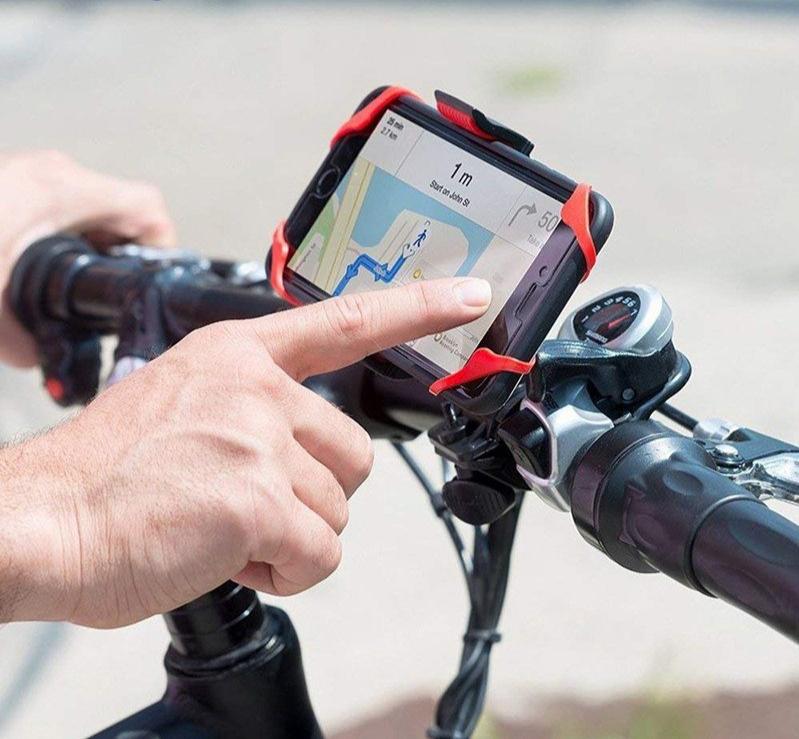 Support de téléphone portable / GPS / lecteur MP3 MP4 MP5 pour Vélo