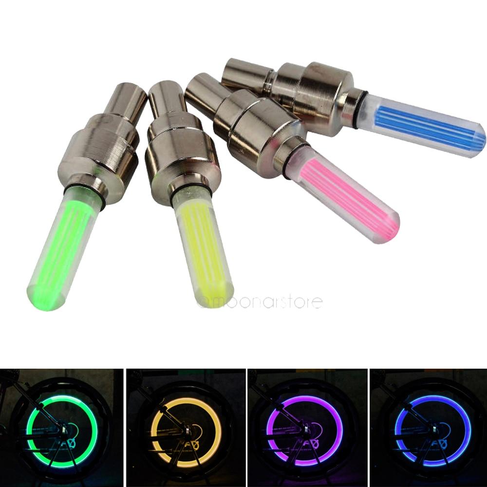 Lumière LED de roue pour vélo / VTT à effet de disque
