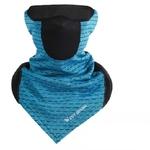 Cache cou triangle respirant noir bleu1