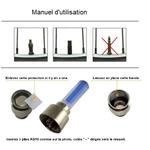 Manuel utilisation Lumière LED Roue1