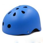 Casque-rond-bleu-trottinette-vtt