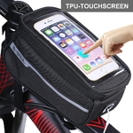 Sacoche Imperméable-pour vélo-Bag-Nylon-Bike-Cyling-Cell-Mobile-Phone-Bag-Case-5-5-6-Bicycle-VTT-bicyclette