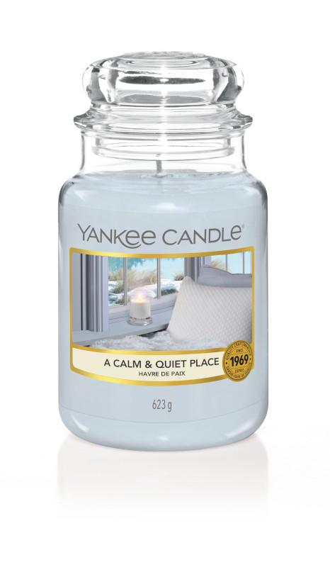 Bougie A Calm & Quiet Place grande jarre - Yankee Candle