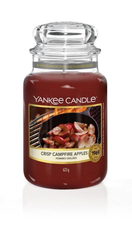 Bougie Crisp Campfire Apples grande jarre