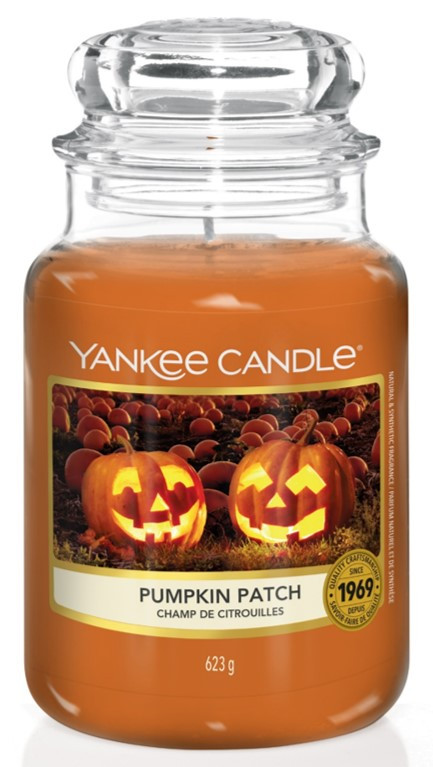 Bougie Pumpkin Patch grande jarre - Yankee Candle