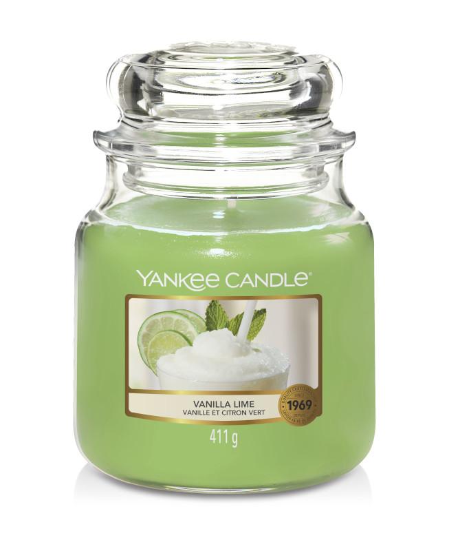 Bougie Vanilla Lime moyenne jarre