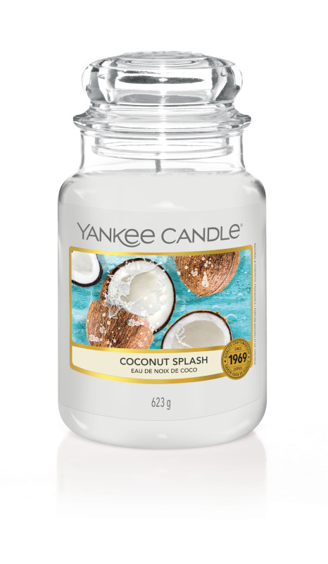 Bougie Coconut Splash grande jarre