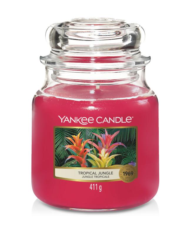 Bougie Tropical Jungle moyenne jarre