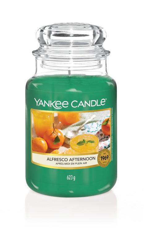 Bougie Alfresco Afternoon grande jarre - Yankee Candle