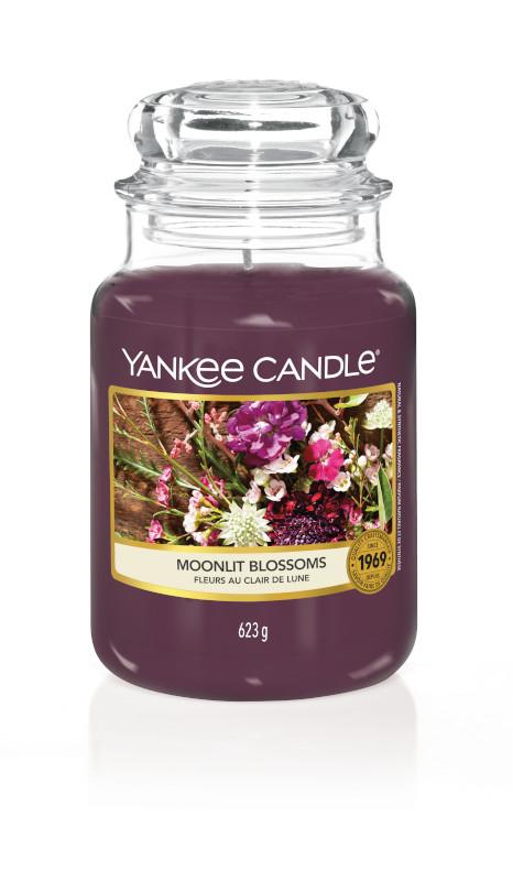 Bougie Moonlit Blossoms grande jarre