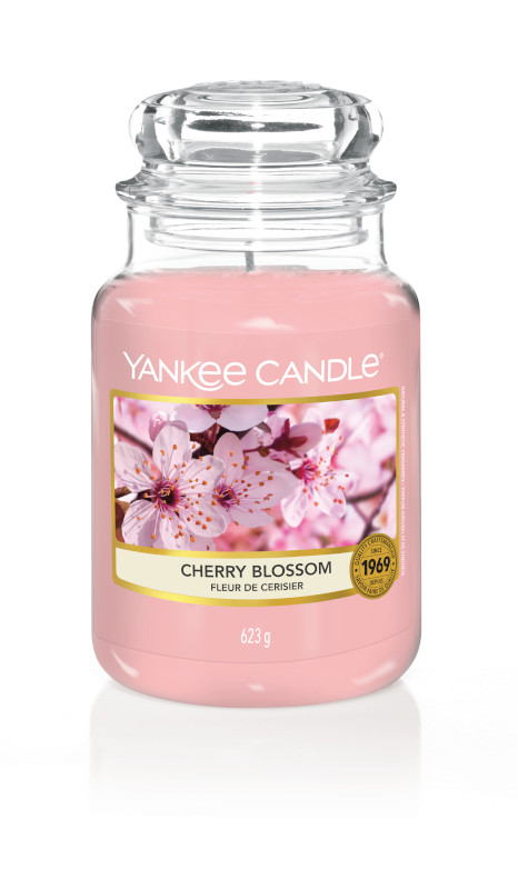 Bougie Cherry Blossom grande jarre