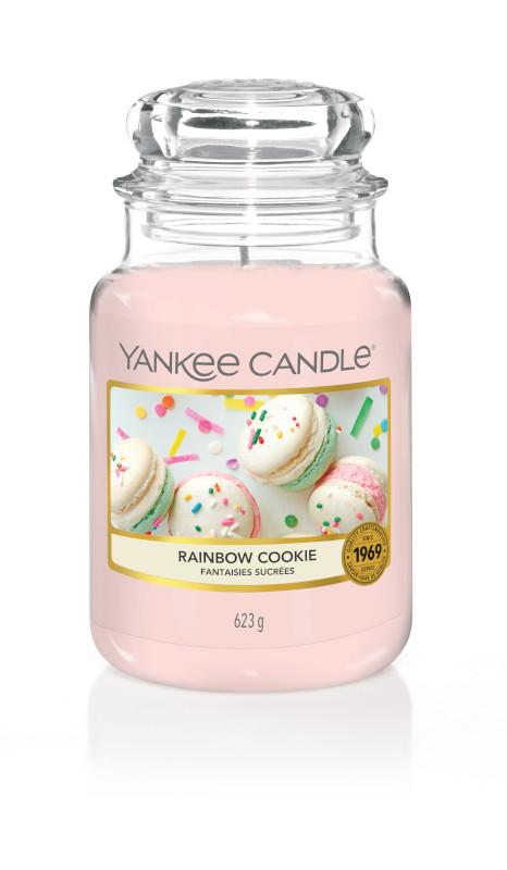 Bougie Rainbow Cookie grande jarre