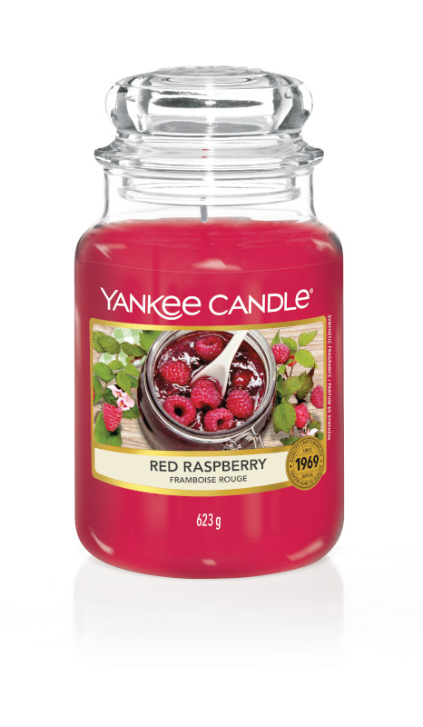 Bougie Red Raspberry grande jarre