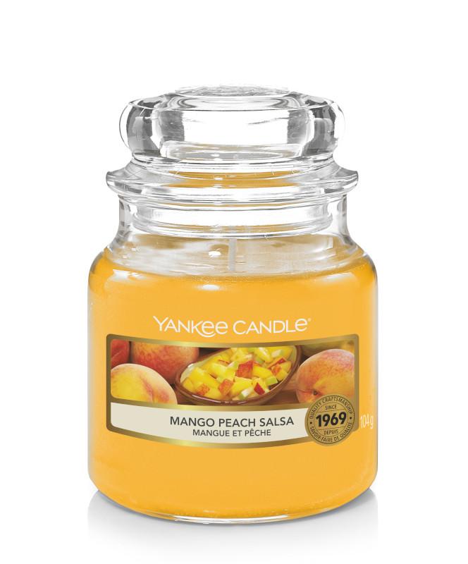 Bougie Mango Peach Salsa petite jarre