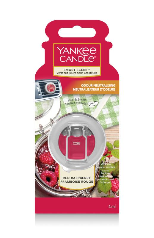 Clip pour aérateur Smart Scent Red Raspberry