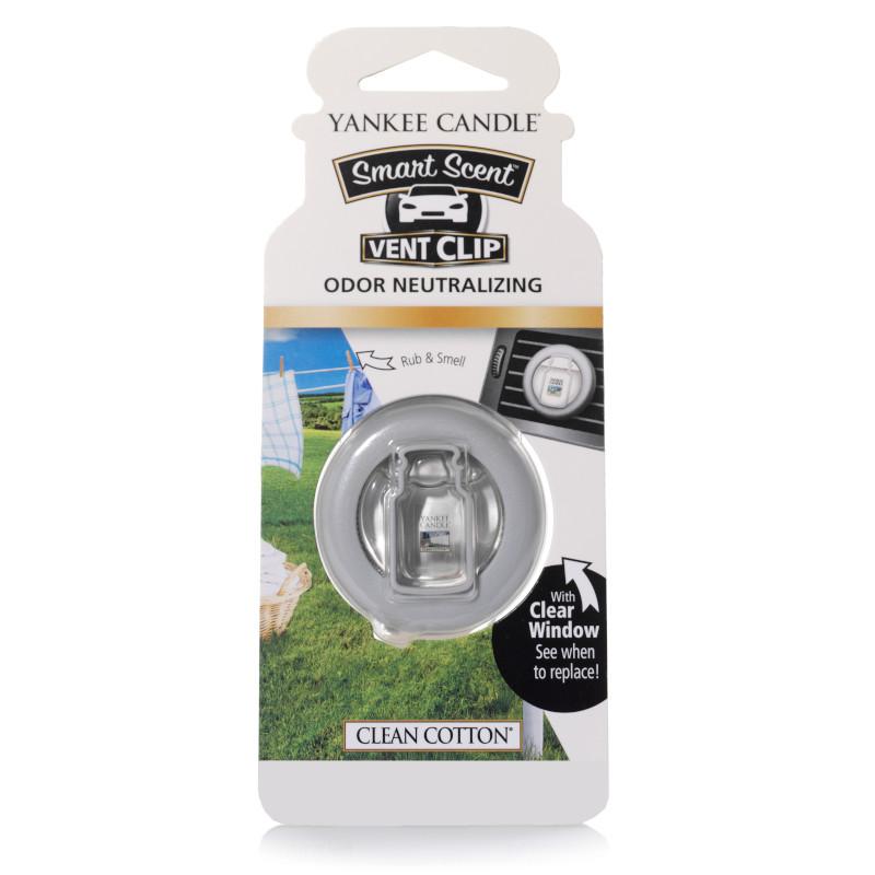 Clip pour aérateur Smart Scent Clean Cotton