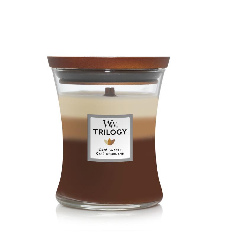 Bougie Café Gourmand moyenne jarre (gamme Trilogy)