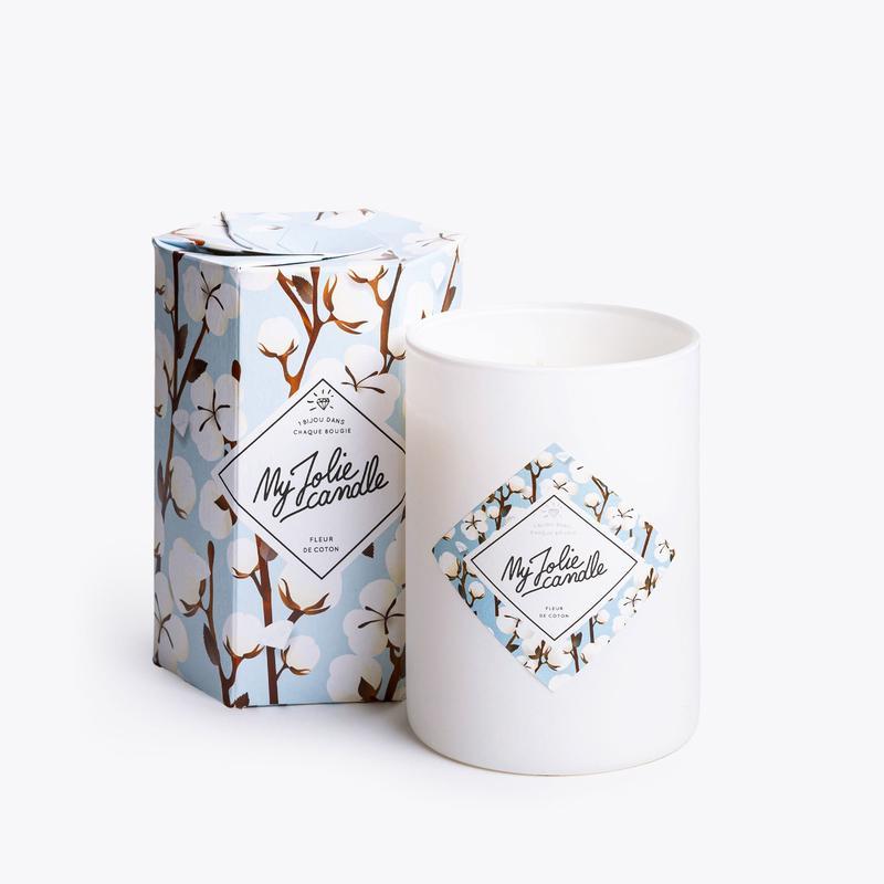 Bougie-bijou Fleur De Coton - My Jolie Candle