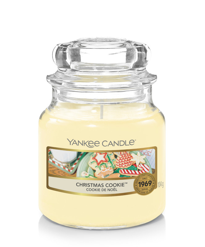 Bougie Christmas Cookie petite jarre - Yankee Candle
