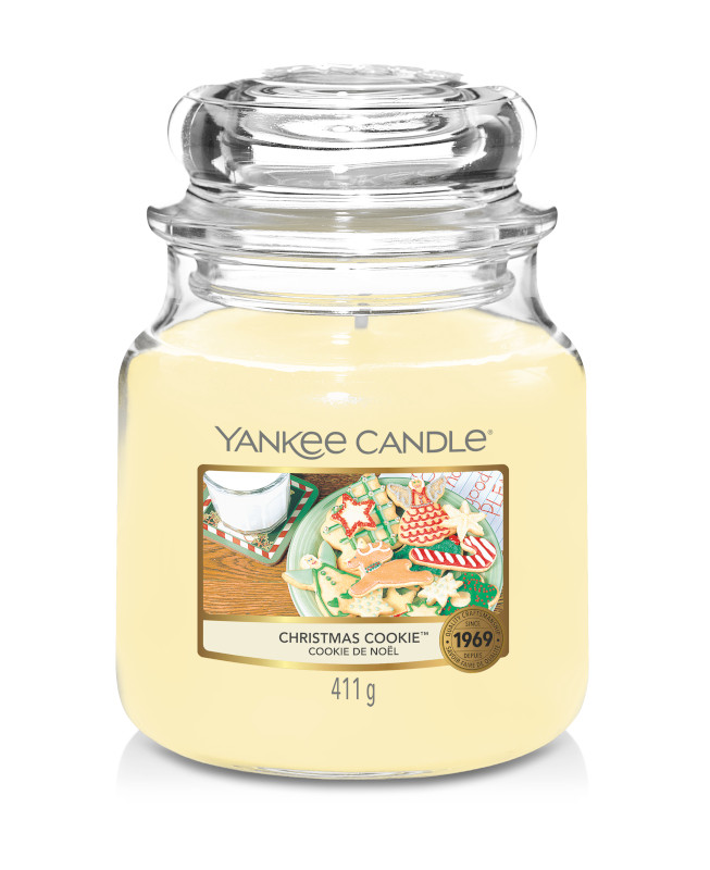 Bougie Christmas Cookie moyenne jarre - Yankee Candle