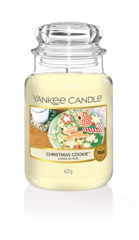 Bougie Christmas Cookie grande jarre - Yankee Candle
