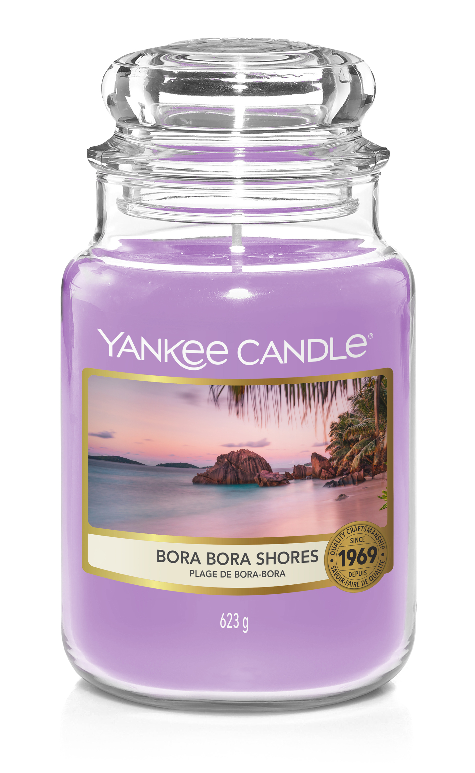 Bougie Bora Bora Shores grande jarre