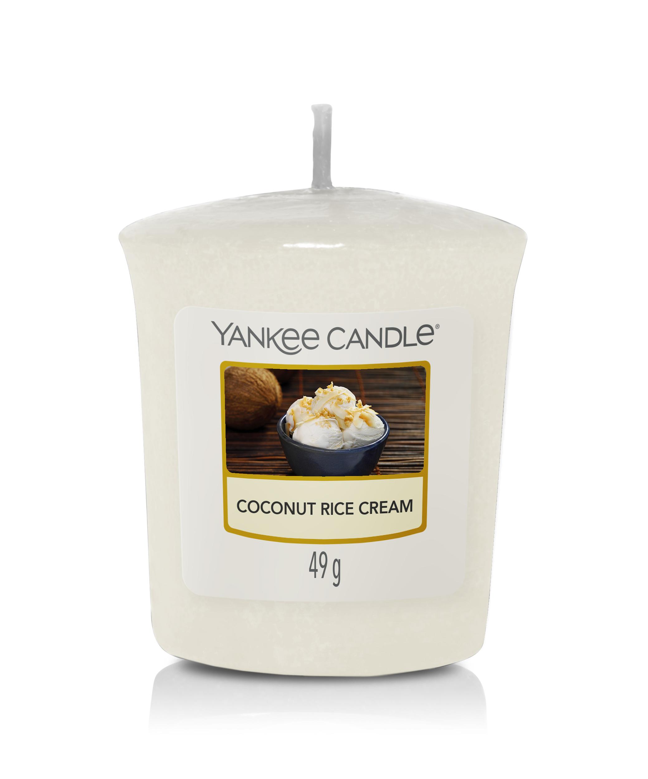 Bougie Coconut Rice Cream votive - Yankee Candle